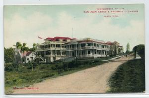 Miramar Santurce Puerto Rico 1910c postcard