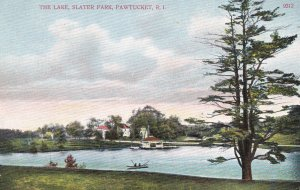 PAWTUCKET , Rhode Island , 00-10s ; The L:ake , Slater Park