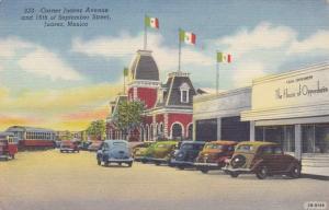 Corner Juarez Avenue and September Street - Juarez, Mexico - Linen