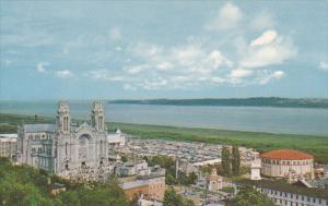 Canada Quebec Ste Anne De Beaupre Is Universally Known As A Pilgrimage Centre...