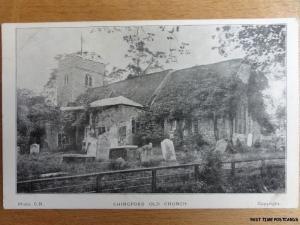 c1910 - Chingford Old Church - near Walthamstow