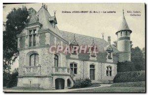 Old Postcard Chateau d & # 39Esclimont Dairy