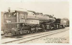 RP: SOUTHERN PACIFIC RAILROAD , California , 1910-30s ; Mallet type Train