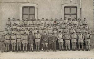 Military - Real Photo Postcard Group Army WW1  02.77