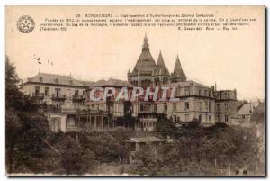Belgium Postcard Bonsecours Old Establishment & # 39hydrotherapie Dr. Delaunois