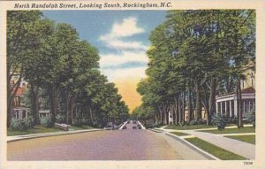 North Carolina Rockingham North Randolph Street Looking South