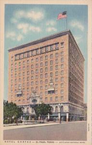 Texas El Paso Hotel Colrtez 1936 Curteich