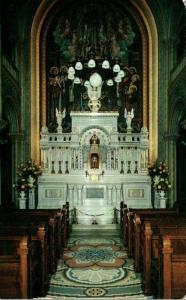 Wisconsin Milwaukee Chapel Of Perpetual Adoration 1955