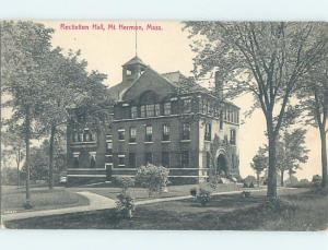 Divided-Back BUILDING Mount Hermon - Gill Massachusetts MA ho3374