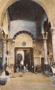 L'entrance du Grand Mosquer Damas, Syria , Syrie Turquie, Postale, Universell...