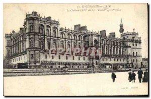 Old Postcard Saint Germain en Laye Chateau XVI century North Facade