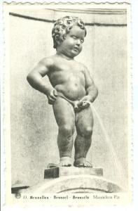 Belgium, Bruxelles, Brussels, Manneken-Pis, unused Postcard