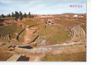 Postal 031570 : Merida. Anfiteatro romano. Vista general