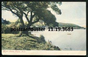 3683 - DIGBY Nova Scotia Postcard 1907 Waterfront by McCoy