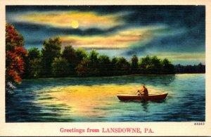 Pennsylvania Greetings From Landsdowne 1944