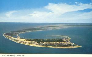 Air View Tip of Cape Cod, Massachusetts
