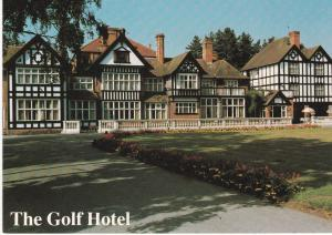 Post Card  Lincolnshire The Golf Hotel Woodhall Spa