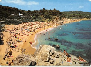 B110454 Spain Cala Brava Cala Gogo Playa Beach Panorama