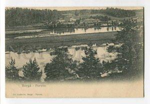 3137784 FINLAND Borga Porvoo Vintage postcard