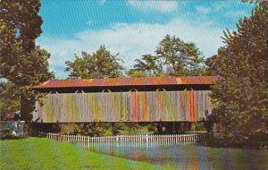 Covered Bridge On Ballard Road Greene County Near Xenia Ohio