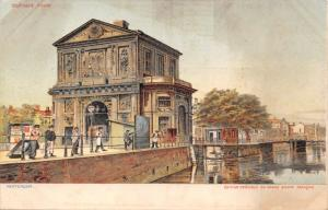 ROTTERDAM NETHERLANDS DELFTSCHE POORT~SPECIALE EDITION GRAND BAZAR POSTCARD 1900