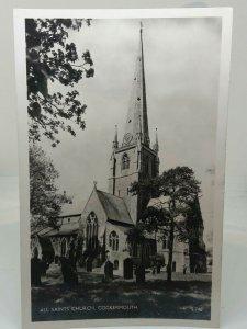 All Saint Church Cockermouth Vintage RP Postcard Posted 1958