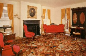PA - Birdsboro. Hopewell Village Ironmasters Mansion, Parlor