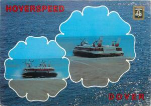 Hoverspeed Dover hovercraft postcard