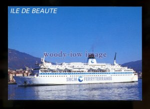 FE2657 - French SNCM Ferry - Ile de Beaute , built 1979 - postcard