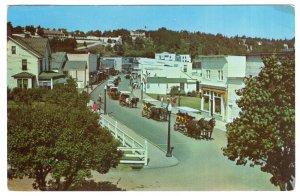 Mackinac Island, Michigan, Main Street And Village