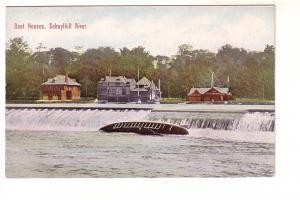 Boat Houses, Dams, Schuylkill River Pennsylvania