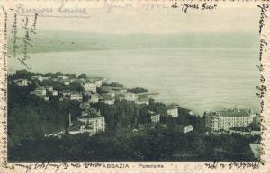 Croatia - Abbazia Panorama 02.77