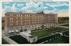 Prince Arthur Hotel, Port Arthur, Ontario, Canada, PU-1939