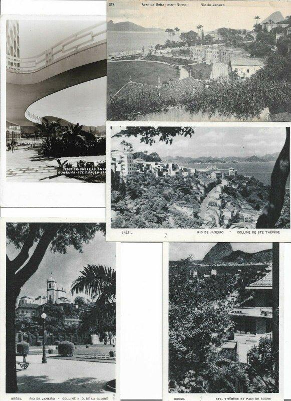Brazil Rio De Janeiro Postcard Lot of 10 01.14