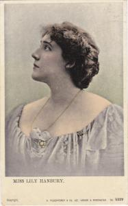 Miss Lily Hanbury - An English Stage Performer, 1900s