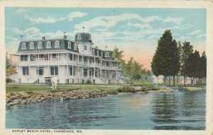 CAMBRIDGE , Maryland , 1924 ; Oakley Beach Hotel