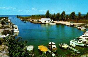 Michigan Bay Port Steele's Marina On Saginaw Bay