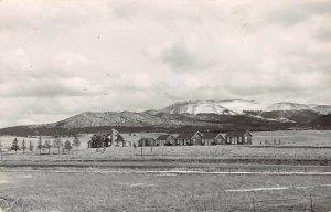 LPS37 Divide Colorado Crescent Ranch Postcard RPPC