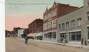 WARREN , Pa. , 1908 ; Pennsylvania avenue