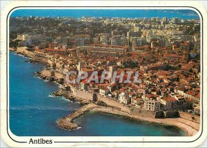 Modern Postcard Antibes Ramparts and the Old Town