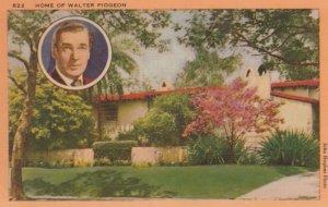 LOS ANGELES, California, 1930-40s; Home of Walter Pidgeon