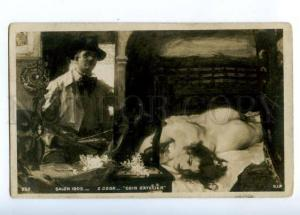 176071 NUDE Model WOMAN Painter by CSOK Vintage SALON 1905