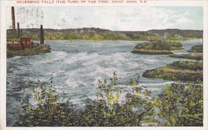Canada Reversing Falls The Turn Of The Tide Saint John New Brunswick 1929