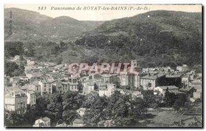 Royat - Panorama - Old Postcard