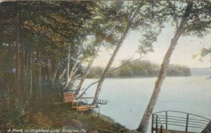 BRIDGTON , Maine , 1900-10s ;  A Nook in Highland Lake