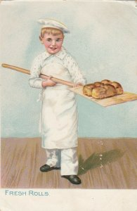 TUCK; Little Men & Women Series, Fresh Rolls, 1900-10s