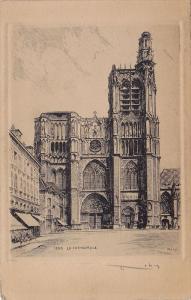 La Cathedrale, SENS (Yonne), France, 1900-1910s