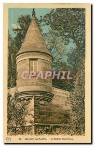 Old Postcard Chalons sur Marne Bastion Mauvillain