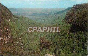 The Modern Postcard Breathtaking view of North Georgia's Blue Ridge Mountain