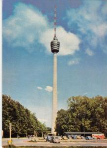 GG14396 Fernsehturm Stuttgart Turmrestaurant Tower Auto Cars Voitures